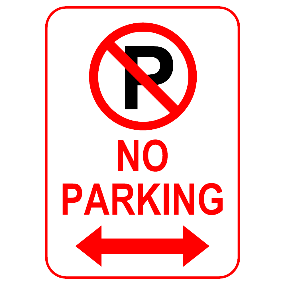 Example Image: No Parking