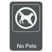 No Pets Sign