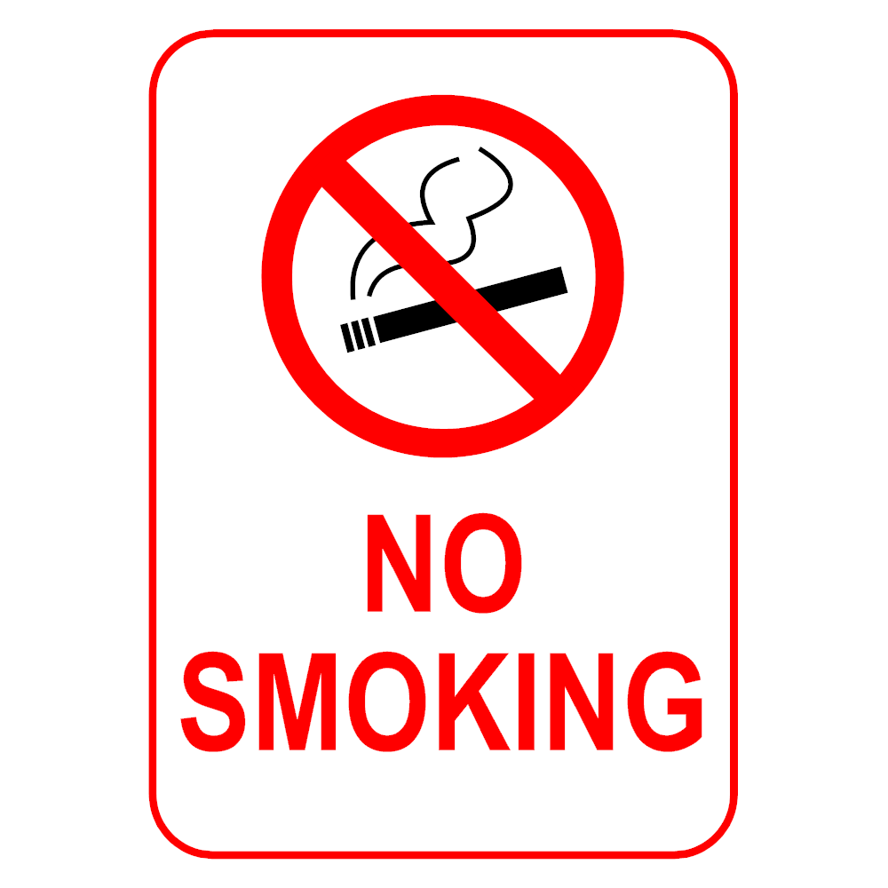 Example Image: No Smoking Sign 2