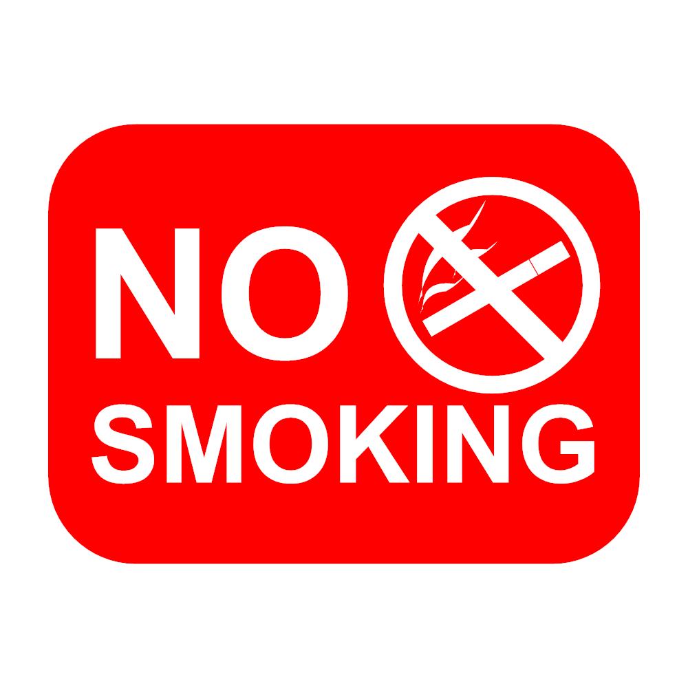 Example Image: No Smoking Sign