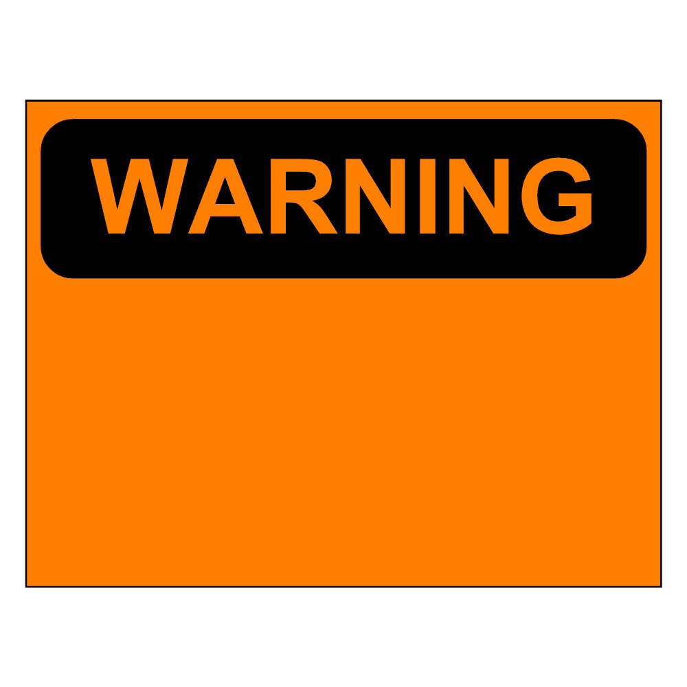 Example Image: Warning Sign