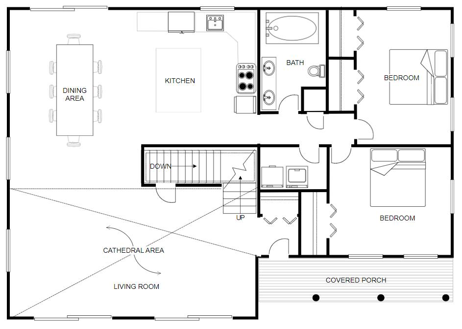 SmartDraw CAD example