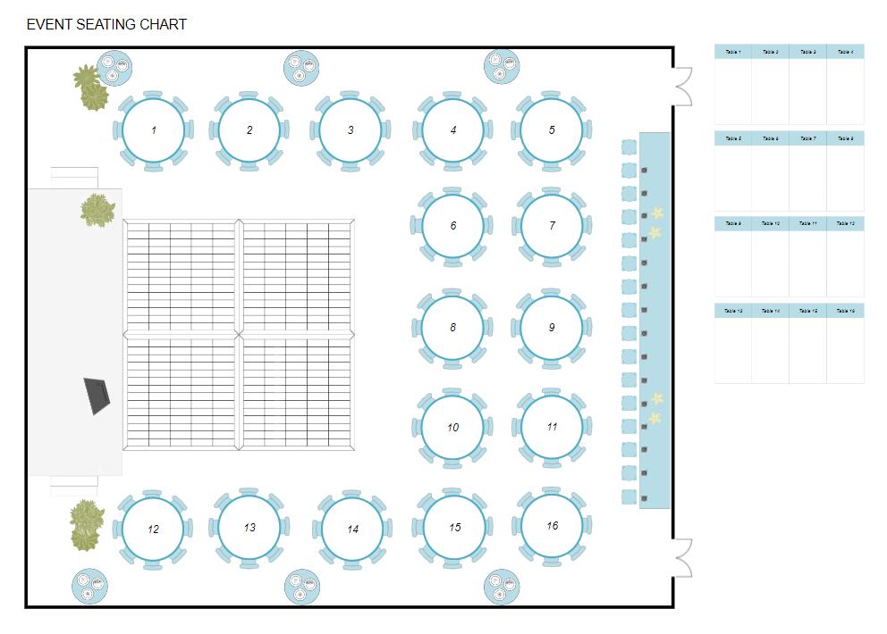 Banquet planning software