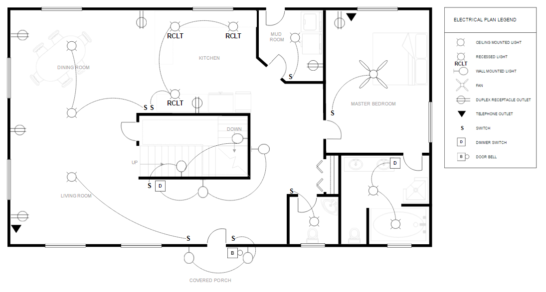 Technical drawing create technical drawings with a free Electrical floor plan software