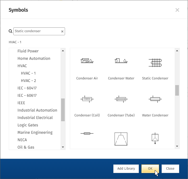 SmartDraw CAD symbols