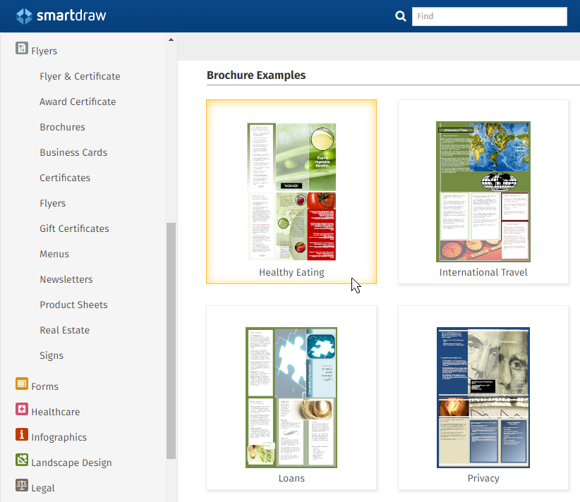 Desktop publishing examples