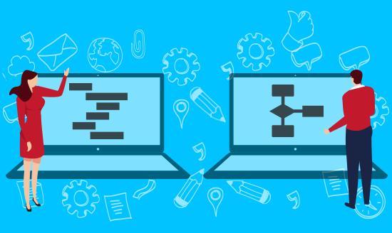 Make flowcharts, organizational charts, uml diagrams and more online