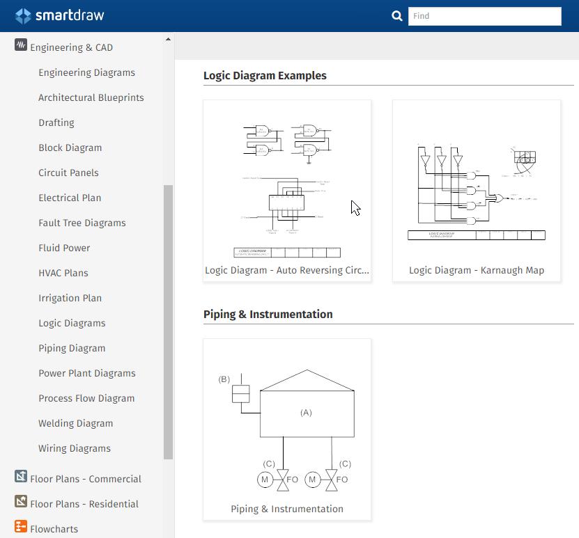 Engineering Diagram Templates