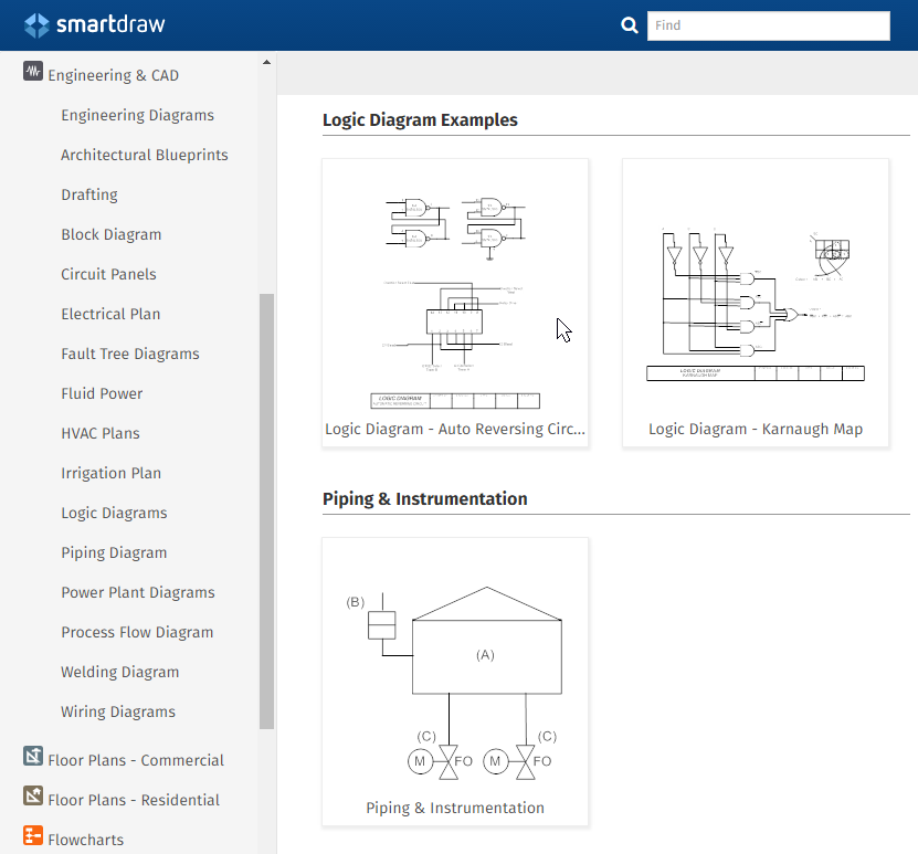 Engineering drawing create engineering diagrams easily engineering diagram templates malvernweather Image collections