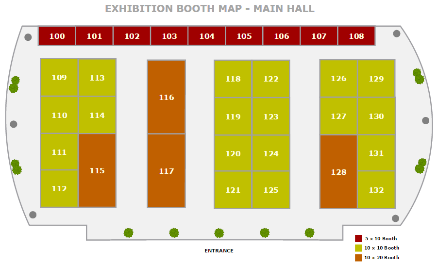 Exhibition map