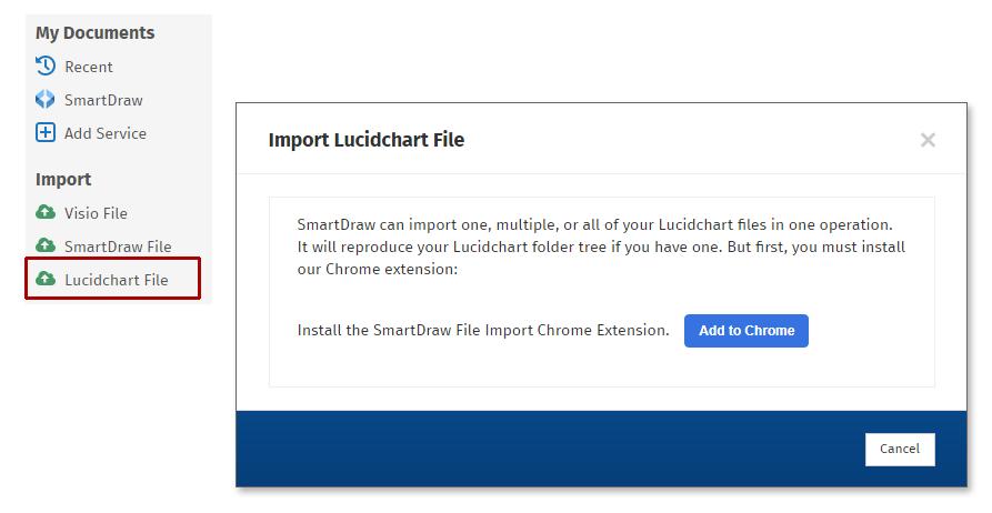 Import Lucidchart