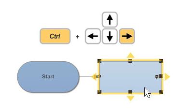 Build diagrams easily