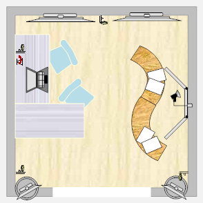 Trade Show Booth Layout