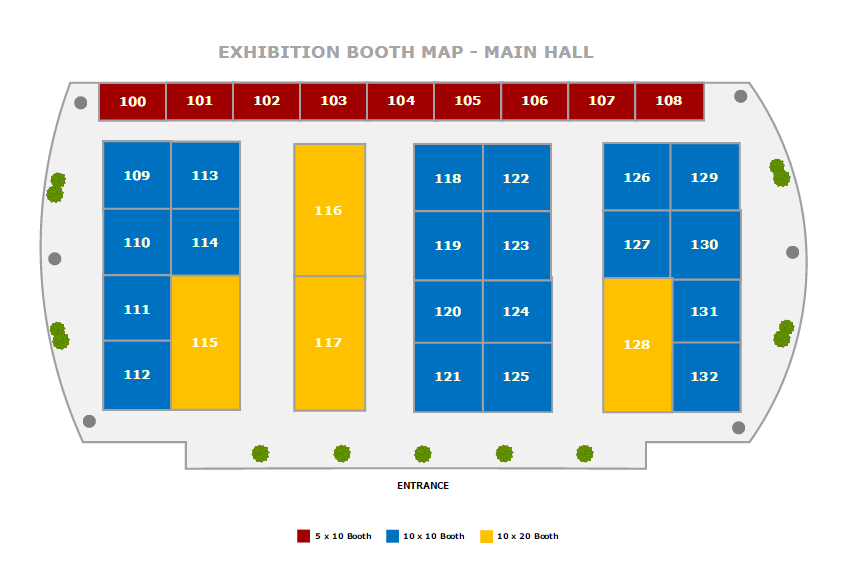 Trade show layout software