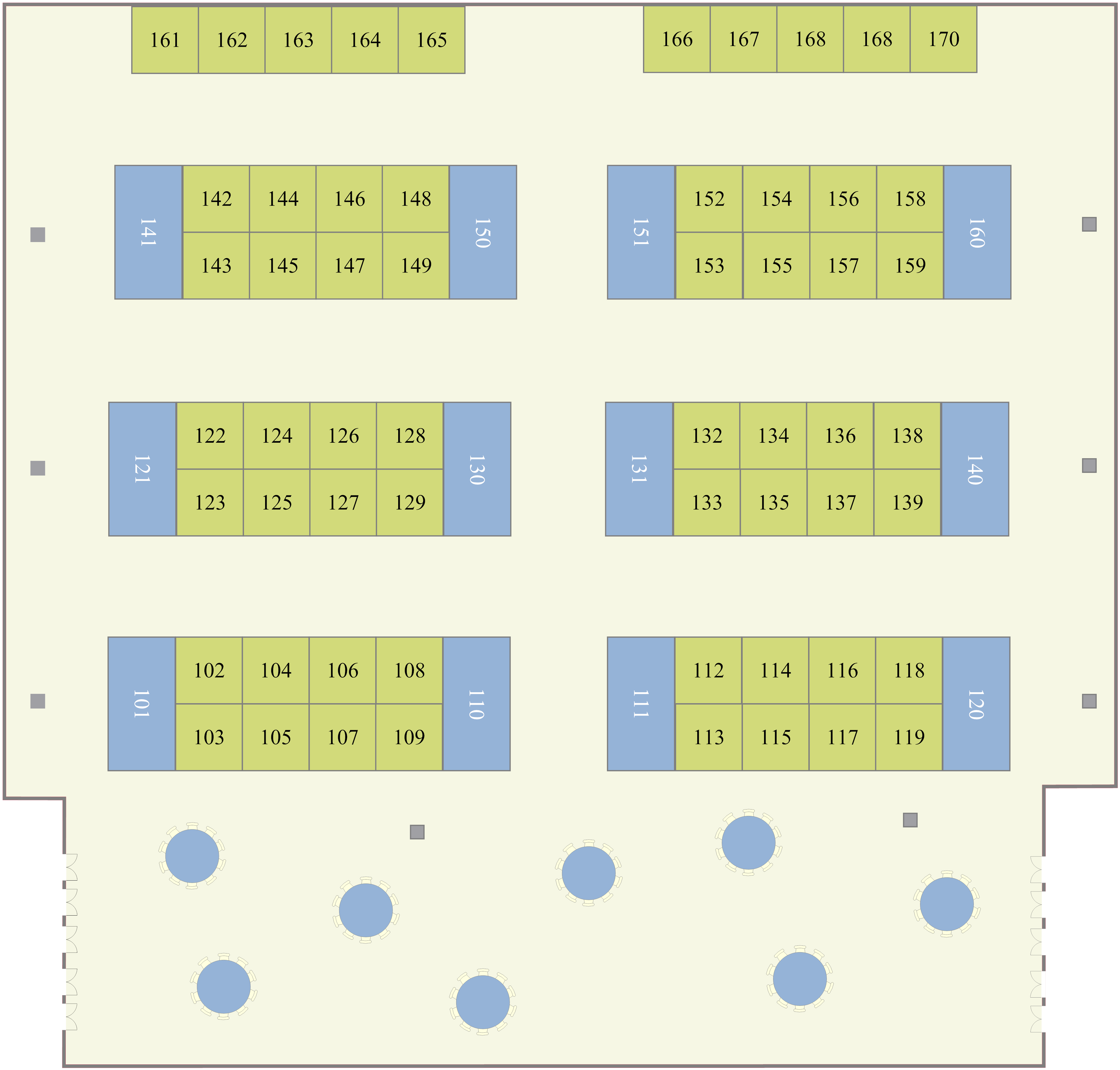 Trade Show Layout Example