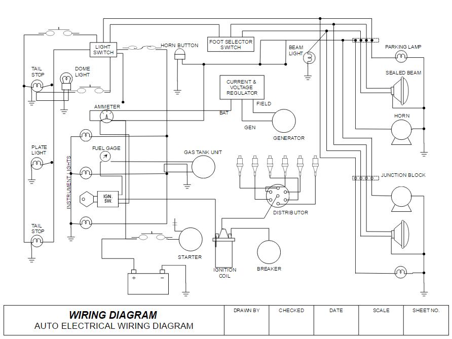 Wiring diagram example