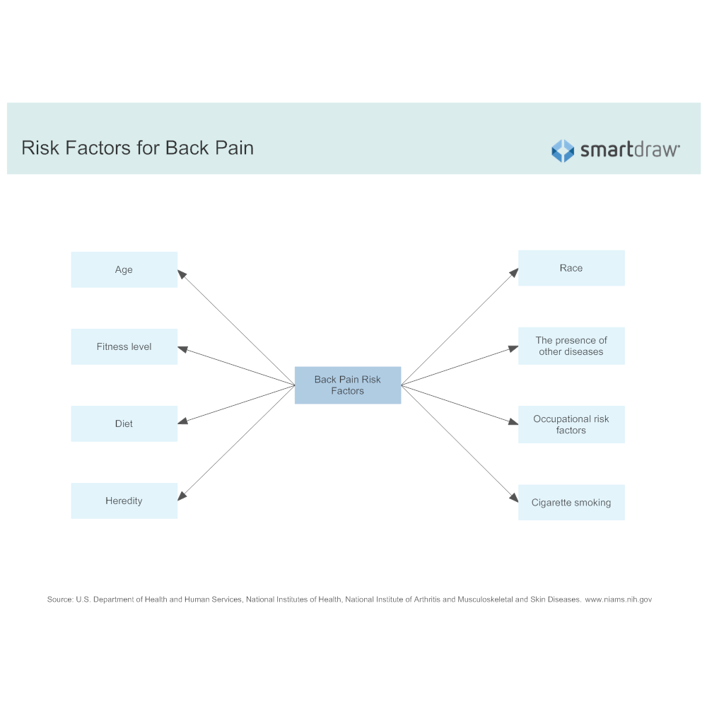 Example Image: Risk Factors for Back Pain