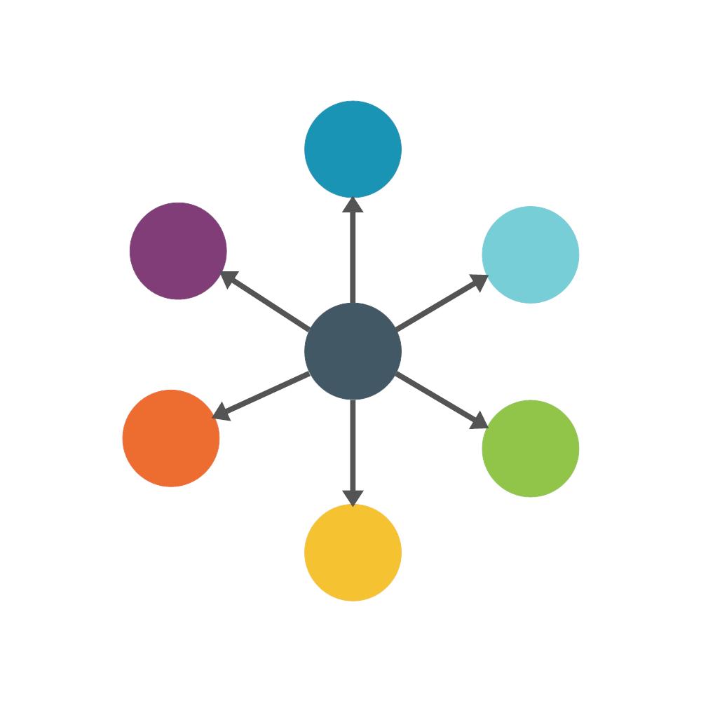 Example Image: Spoke Diagram (6-piece)