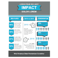 Infographic Template for Impact