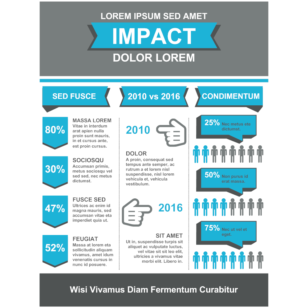 Example Image: Infographic Template for Impact