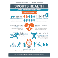 Sports Health Infographic