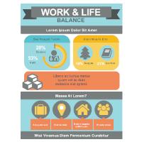 Work & Life Infographic