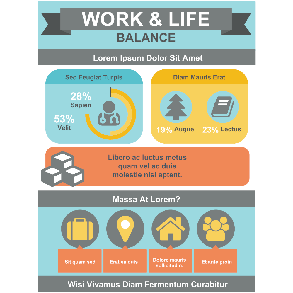 Example Image: Work & Life Infographic