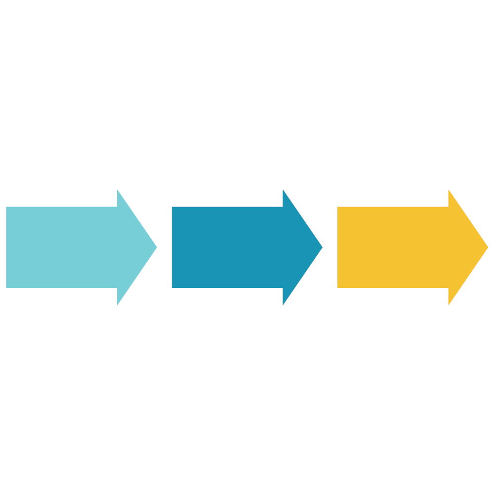 Example Image: Arrow Process - Horizontal