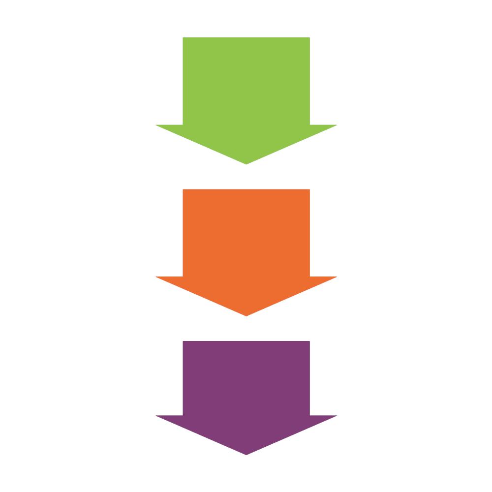 Example Image: Arrow Process - Vertical