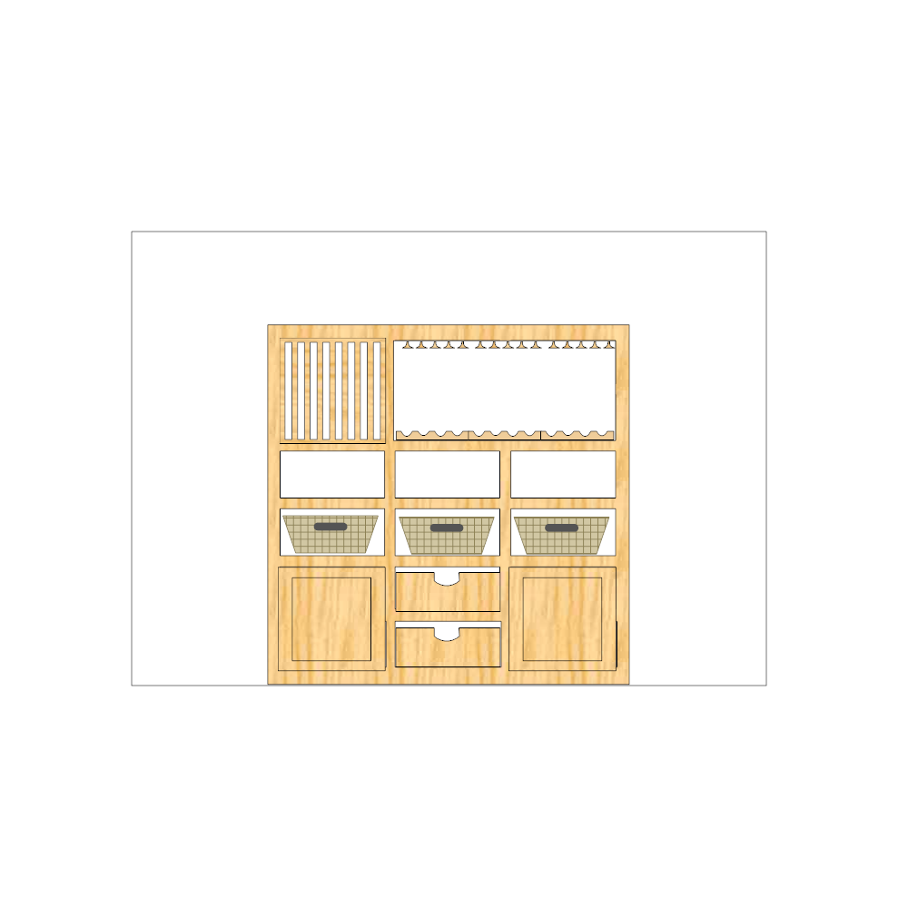 Example Image: Cabinet Plan