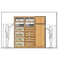 Cabinet Storage Design