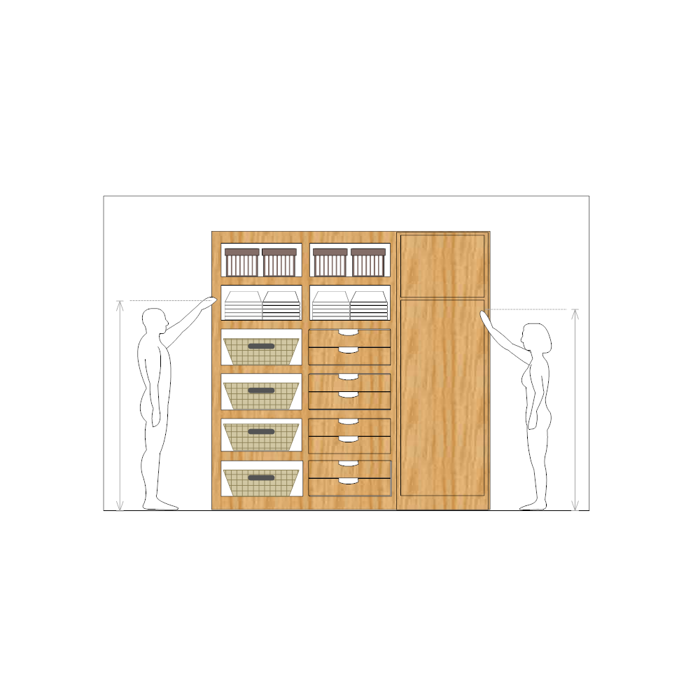 Example Image: Cabinet Storage Design