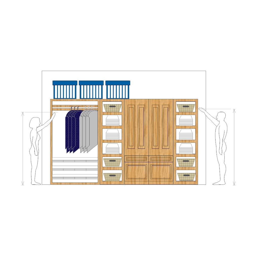 Example Image: Closet Design Plan