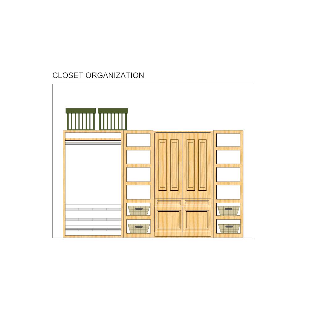 Example Image: Closet Design