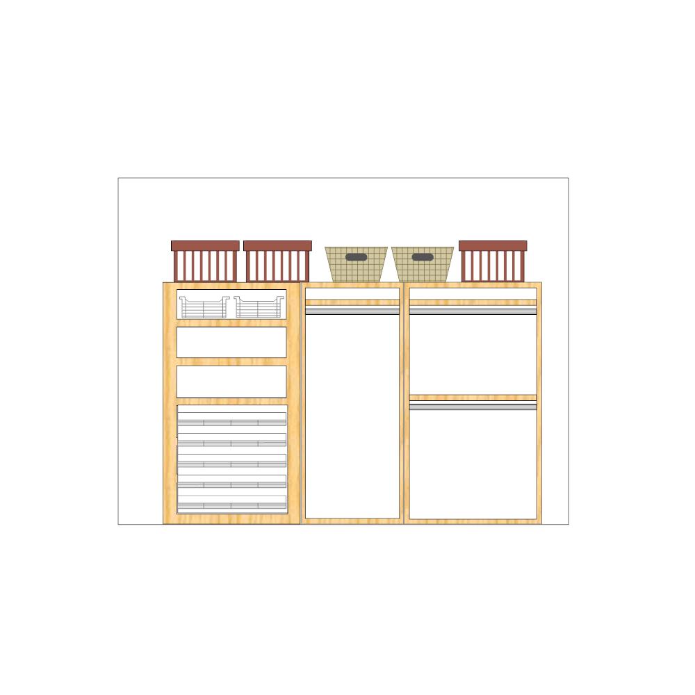 Example Image: Closet Layout