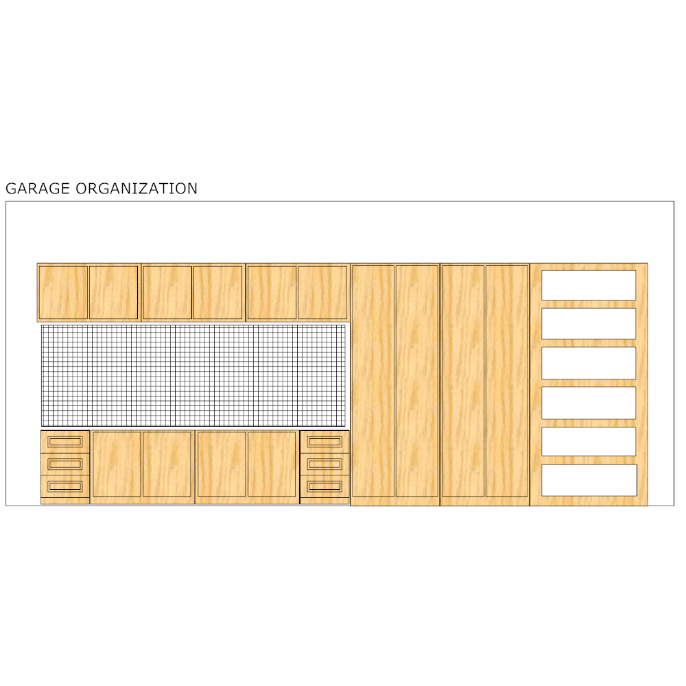 Example Image: Garage Elevation Plan