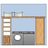 Laundry Room Elevation Plan