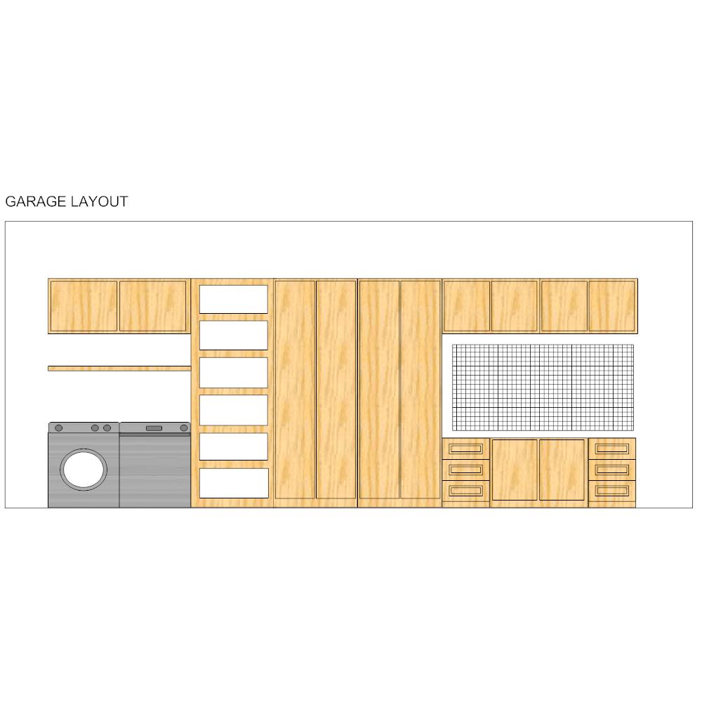 Example Image: Laundry Room Elevation