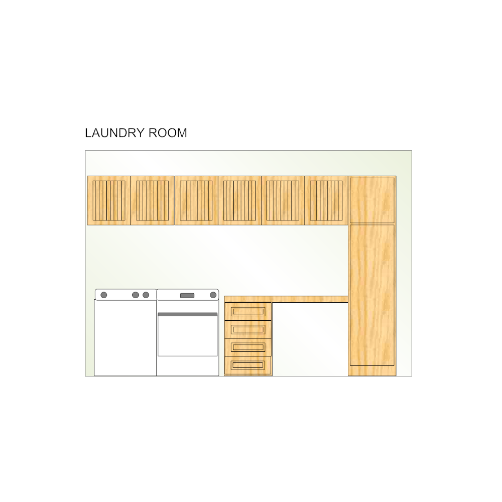 Example Image: Laundry Room Plan