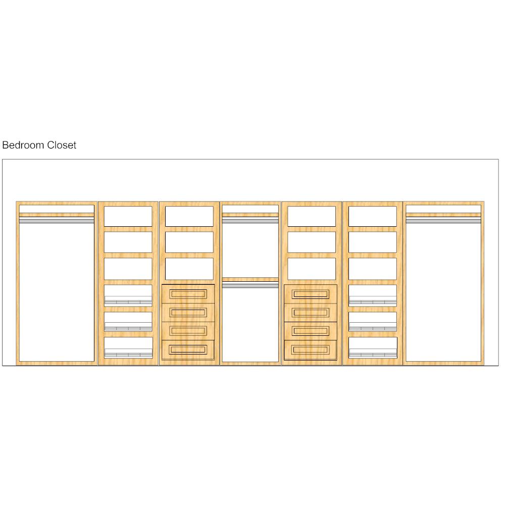 Example Image: Storage Design - Closets