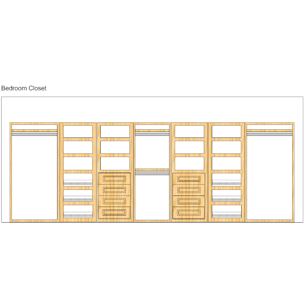 Example Image: Storage Design - Closets