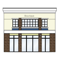 Boutique Store Front