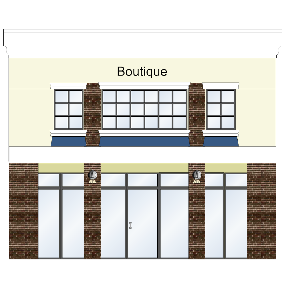 Example Image: Boutique Store Front