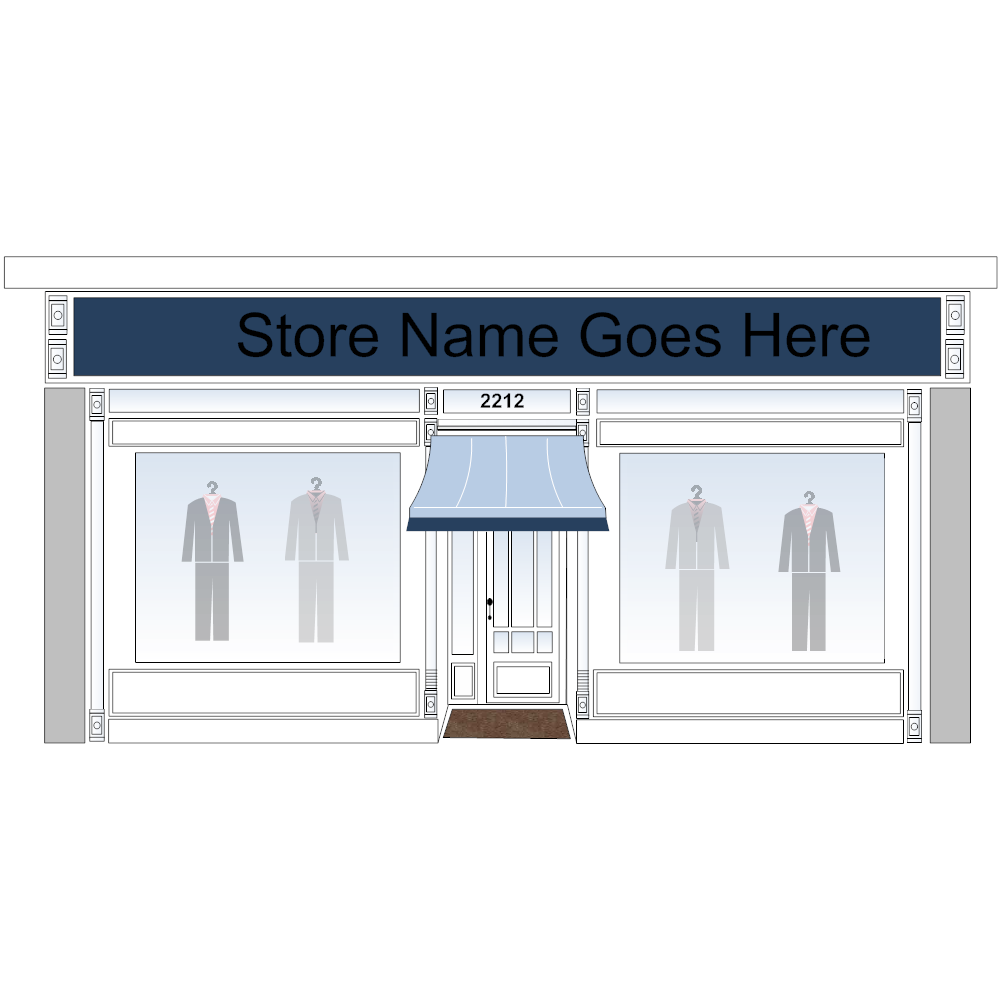 Example Image: Clothing Store Example