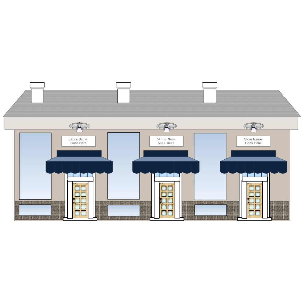Example Image: Store Front Elevation