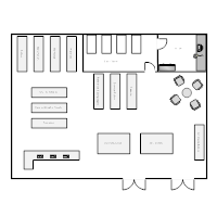 Bookstore Layout