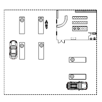 Gas Station Layout