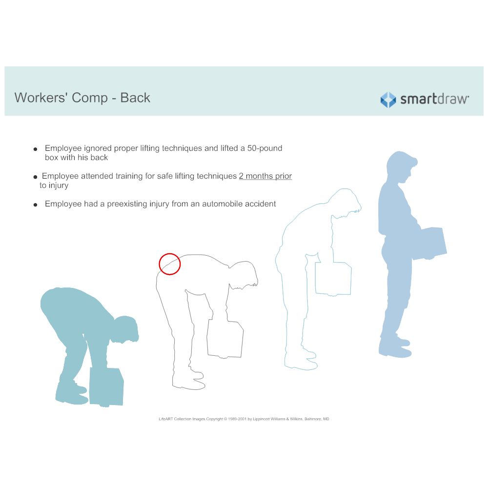 Example Image: Workers' Comp - Back