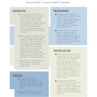 Shoe Company - SWOT Diagram