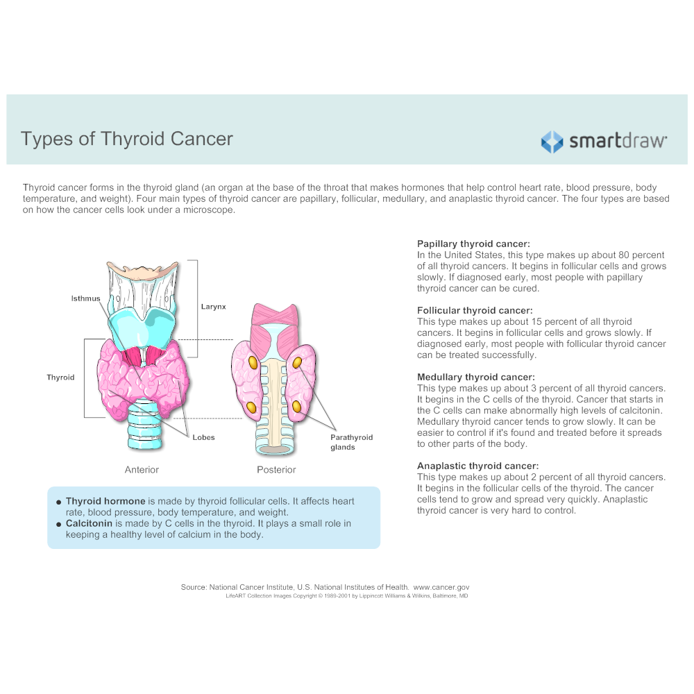 Example Image: Types of Thyroid Cancer